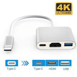ADAPTATEUR AUDIO-VIDÉO  USB-C Numérique AV Multiport Adaptateur USB 3.1 Ty