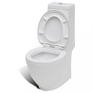 CUVETTE WC SEULE Toilettes Cuvette WC carre blanche en ceramique De