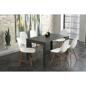TABLE À MANGER COMPLÈTE Table console de Salle à Manger extensible jusqu'à