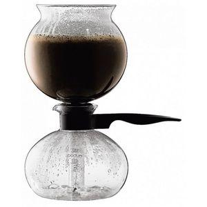 CAFETIÈRE Bodum - cafetière à dépression 8 tasses 1l verre -