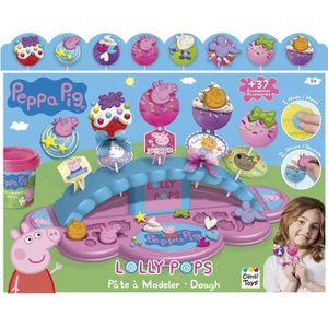 JEU DE PÂTE À MODELER Lolly pops PEPPA PIG  - Pâte à modeler