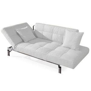 nouveaux styles 21982 2f285 Convertible design Monaco blanc - canapé lit 1 … - Achat ...