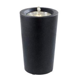 FONTAINE DE JARDIN ESTERAS Fontaine  Duiven Black - Fibre de verre
