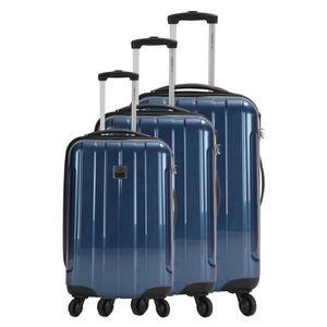 Set de 3 valises bleu pétrole & étoiles 2ZtrIbgm