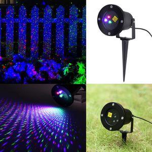 PROJECTEUR LASER NOËL Projecteur Laser dynamique Lampwin Lumière RGB Fir
