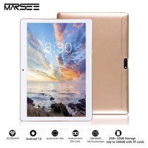 TABLETTE TACTILE Tablette Tactile 10 Pouce, 2 Go de RAM, Disque Dur