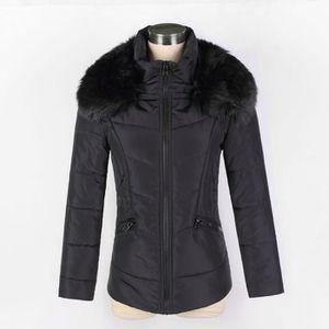 MANTEAU - CABAN SIMPLE FLAVOR Manteau courte femme grande taille à ... 23ddca07546