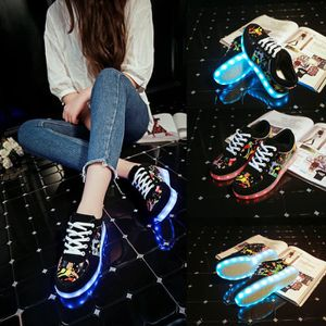 BASKET LED Chaussures Unisexe Homme Femme Chaussure LED S