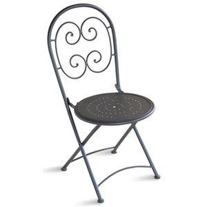 chaise jardin fer forge achat vente pas cher. Black Bedroom Furniture Sets. Home Design Ideas