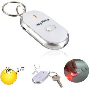 PORTE-CLÉS LED Porte Clé Siffleur Localisateur Sans Fil Key F 1fc2de80c4b