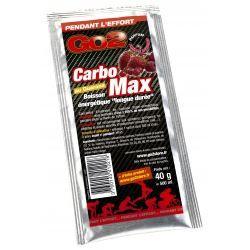 NUTRISENS Complément alimentaire - Sachet de 40g pour préparation de boisson énergétique CarboMax - Fruits rouges