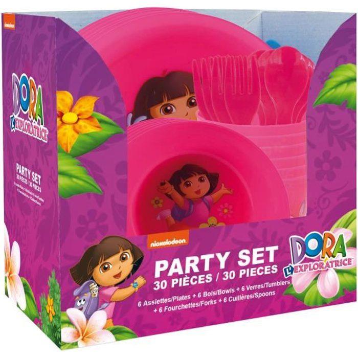DORA Party Set de 30 pièces