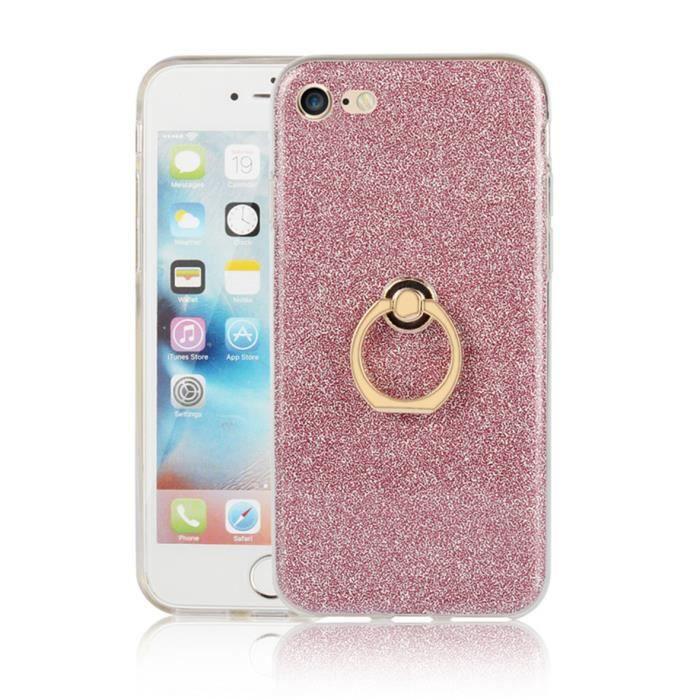 coque iphone 7 anneau silicone