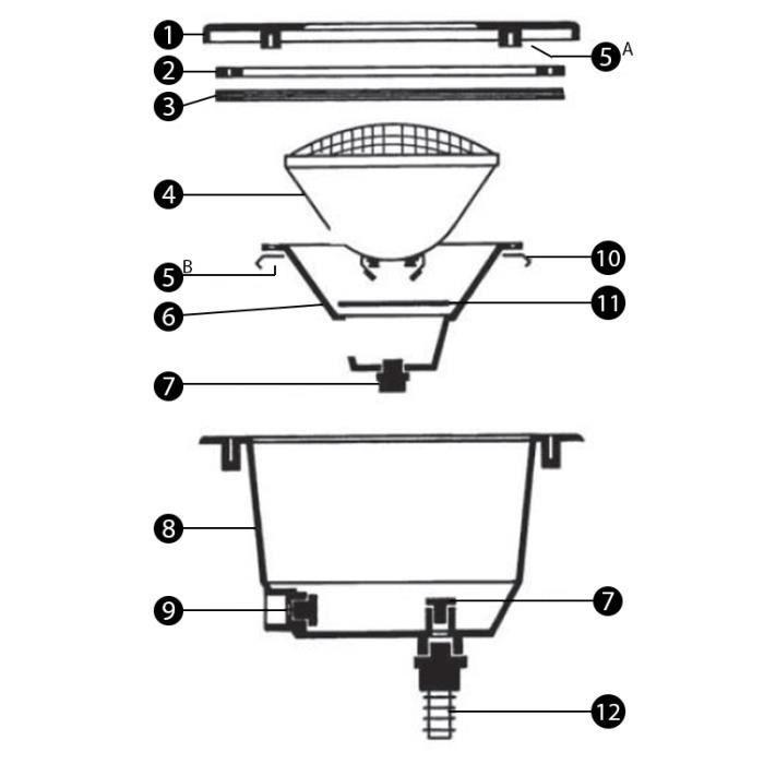 3478 Projecteur N°7 Presse Pour Étoupe Modèle Cofies Corpsniche ordBxWeCQ