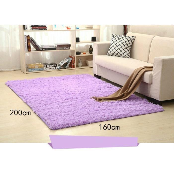 violet 160*200cm tapis chambre enfant tapis salon du sol maison