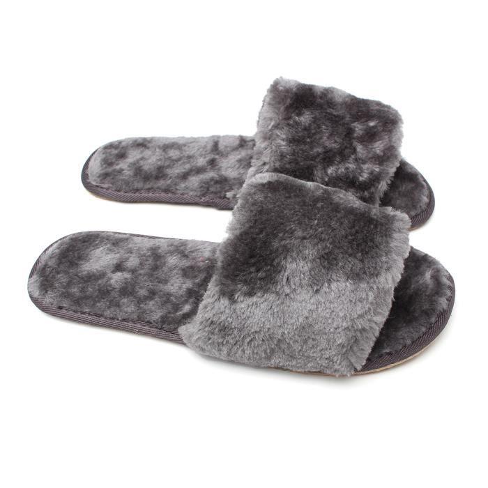 Pantoufle Chaussons Chaussures Polaire Chaud Hiver Souple Maison Femme Fille 82k91AsUxt