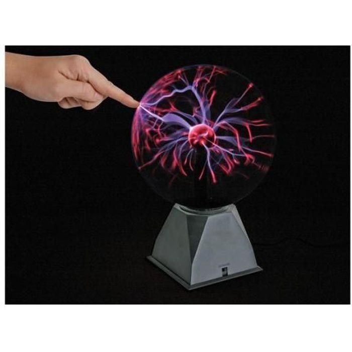 boule plasma achat vente boule plasma pas cher cdiscount. Black Bedroom Furniture Sets. Home Design Ideas
