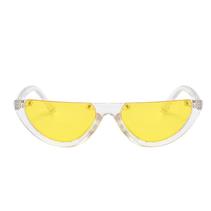 Deuxsuns®Mode féminine cadre chat yeux lunettes de soleil lunettes UV intégré@zf262