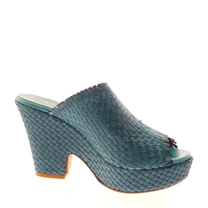 Alternativa Sandal Femme Off White Bluette