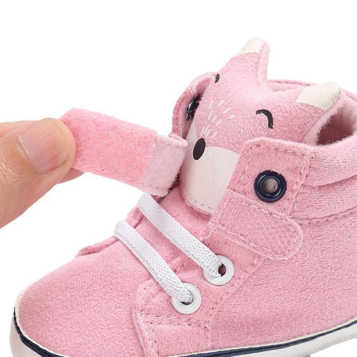 Chaussures Bébé Garçon Fille Chaussons Marche Premier Pas Nouveau-né Souple Antidérapant mUjJwMmaWu