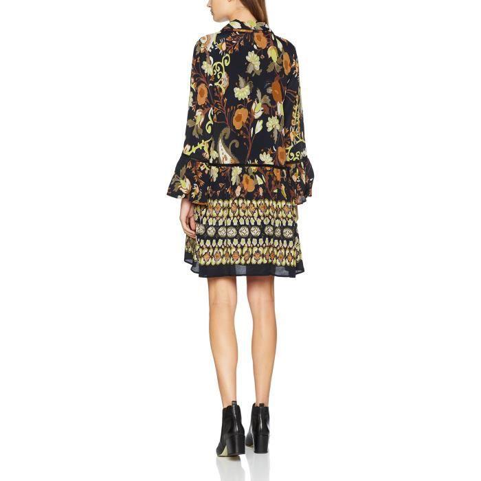 Derhy Femmes Robe de Degustation 2QR88P Taille-38