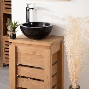 petit meuble salle de bain avec vasque achat vente petit meuble salle de bain avec vasque. Black Bedroom Furniture Sets. Home Design Ideas