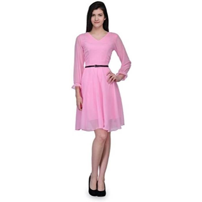 Femmes Stoplook Solide Couleur Casual Robe chasuble REMSI Taille-40
