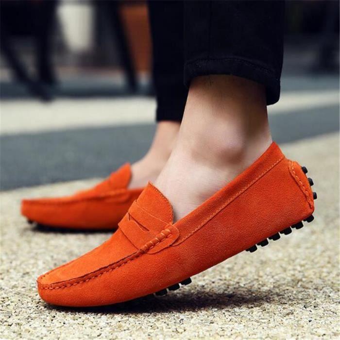 Moccasin homme 2017 nouvelle marque de luxe chaussure 2017 ete Confortable Classique Loafer Grande Taille chaussures Nouvelle Mode