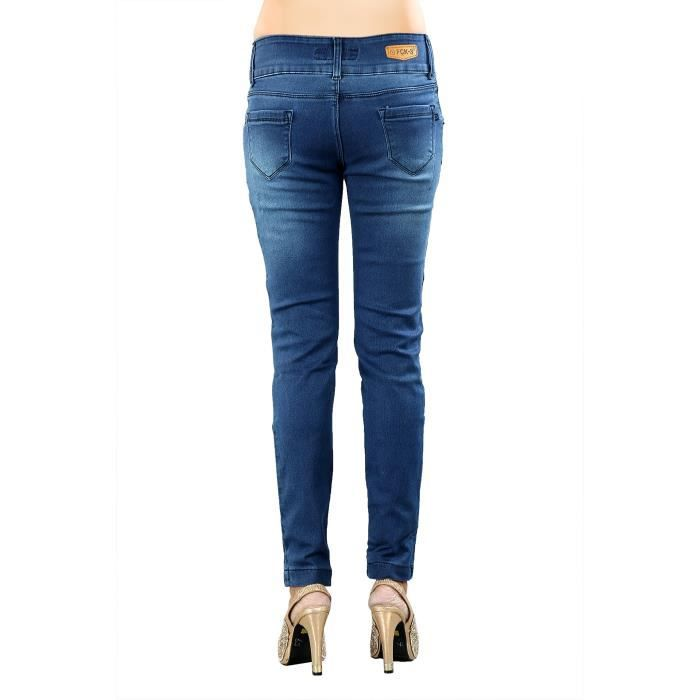 Women's Ankle Fit Stretchable's Denim Pant CNU7S Taille-32