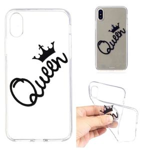 coque iphone xr king queen
