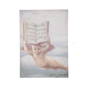 TABLEAU - TOILE Tableau peinture ange - 70 cm