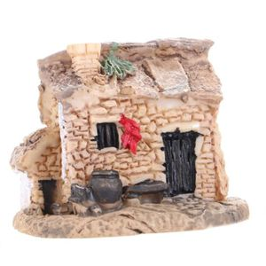 STATUE - STATUETTE Petite Maison Figurines Artisanat Résine Micro Pay
