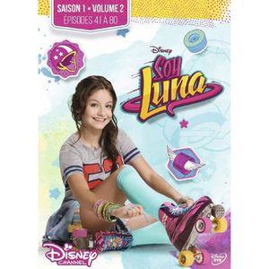 DVD SÉRIE Soy Luna Saison 1 Volume 2 Épisodes 41 à 80 - COFF