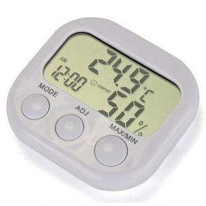 MESURE THERMIQUE LCD Digital thermomètre hygromètre intérieur Gauge