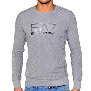 PULL Ea7 - Pull Fin Col Rond - Homme …