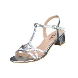 SANDALE - NU-PIEDS Sandales à talons Lily shoes 612 Silver
