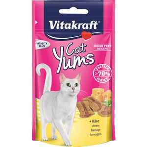 FRIANDISE VITAKRAFT Cat Yums - Fromage - Pour chat - 40 g