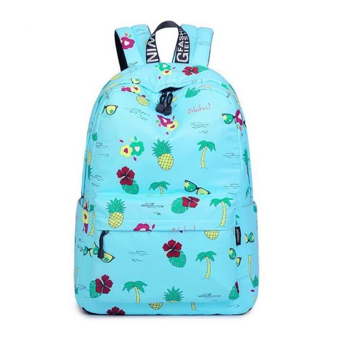 7245b37b04 Acmebon Léger d'impression de mode 14inch portable School sac à dos ...