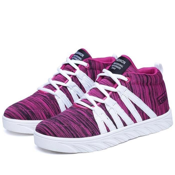 Basket Running Meilleure Absorption Des Chocs DéRapage Loisir Deluxe Homme rouge 44 R88169842_333 lECynh