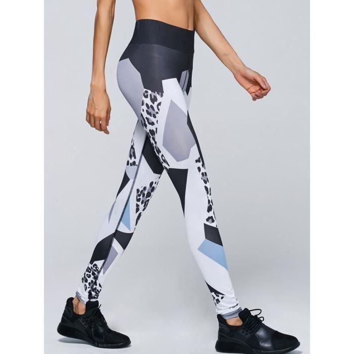 Yoga Pantalon Yoga -M Fitness   Body Building Femmes Taille Haute ... a4074a9128c