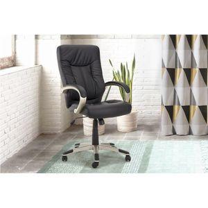 Fauteuil bureau relaxation achat vente fauteuil bureau for Grand bureau noir