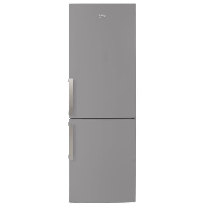 BEKO RCSA365K21S Réfrigérateur combiné-346L (233L + 113L)-froid brassé / froid statique A + L59, 5 x