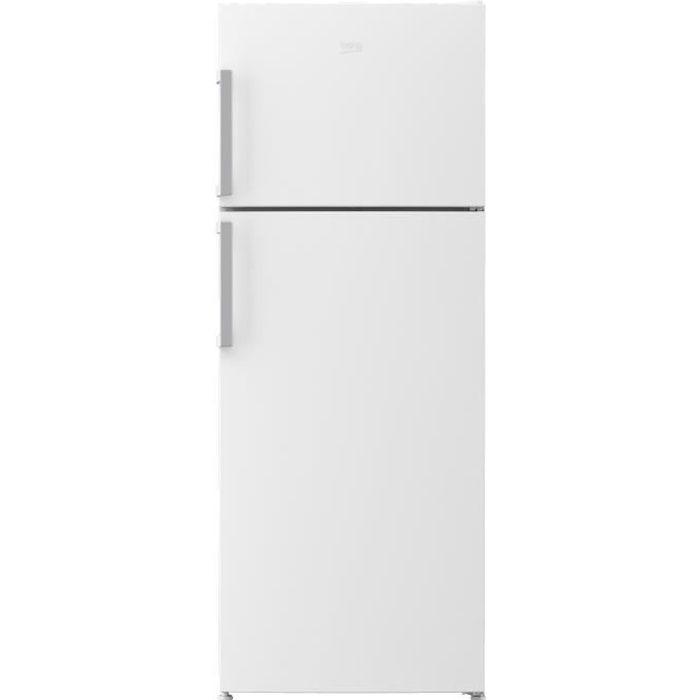BEKO RDSE465K21W - Réfrigérateur congélateur haut - 437L (322+115) - Froid brassé - A+ - L 70cm x H