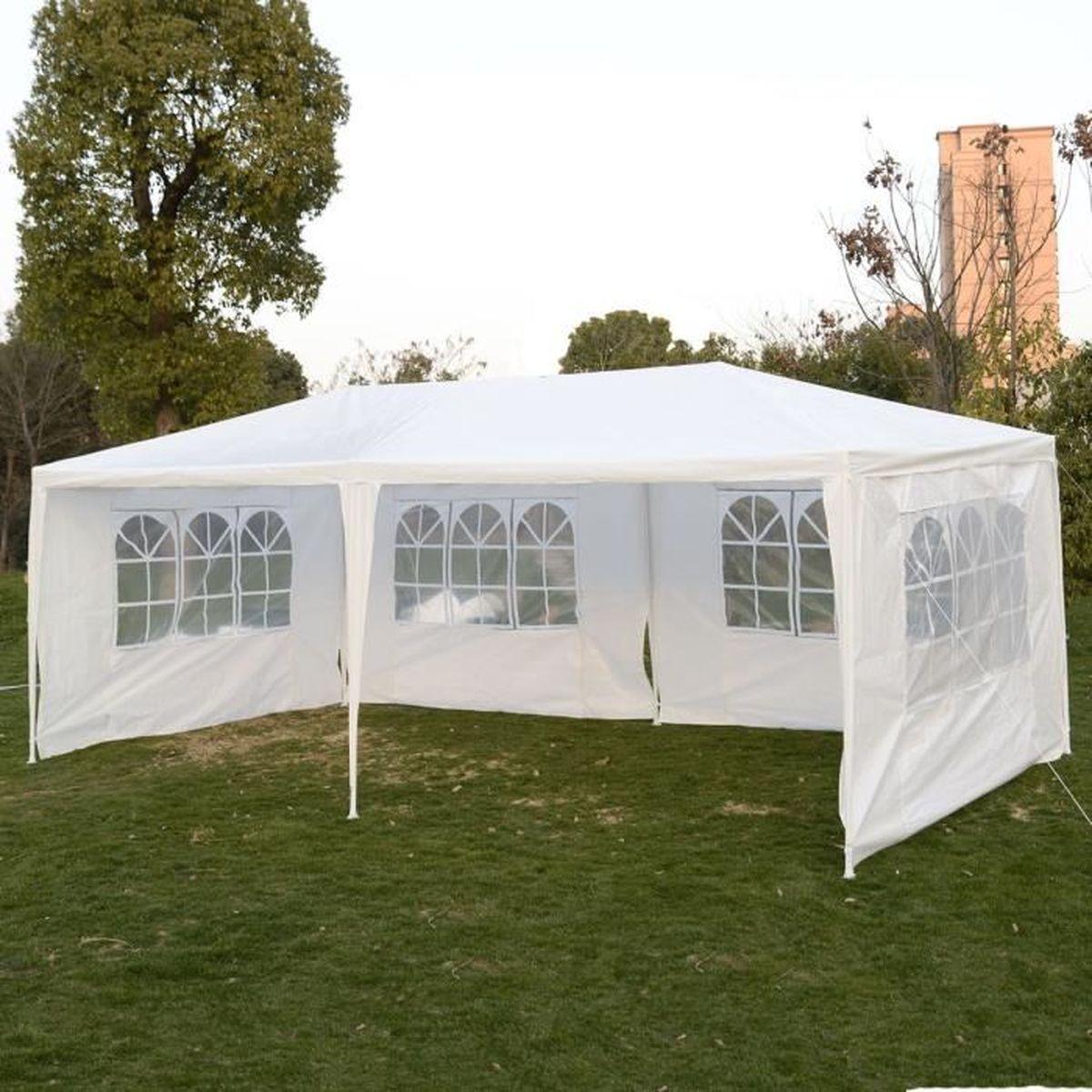 parasol blanc achat vente parasol blanc pas cher cdiscount. Black Bedroom Furniture Sets. Home Design Ideas