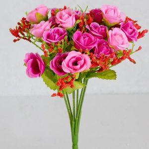 50cm Fleurs Artificielles Rose Lily Rose Hydrangea Orchid mélangé Table Pièce Centrale