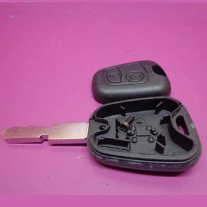 56e4af0aa093 BOITIER - COQUE DE CLÉ Coque de clé avec clé vague pour Peugeot 607 lame