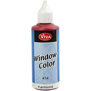 PEINTURE VERRE-VITRAIL Peinture vitrail à base d'eau - livrée dans un fla