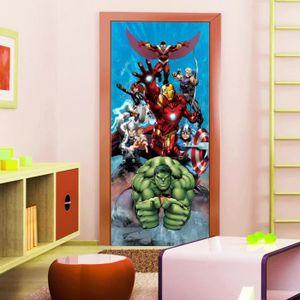 AFFICHE - POSTER Poster porte Avengers Marvel