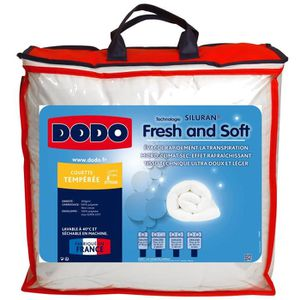 COUETTE DODO Couette Fresh & Soft - 100% polyester traité
