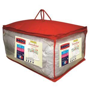PACK LINGE DE LIT DODO Pack SUNSHINE - 1 couette 220x240 cm + 2 Orei